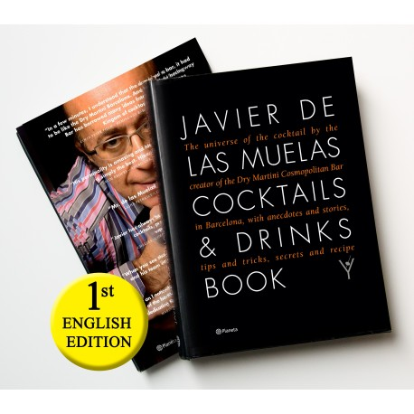Javier de las Muelas Cocktails & Drinks Book / english